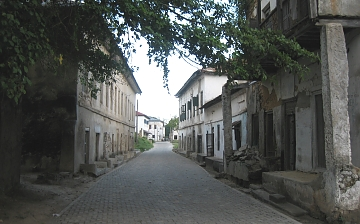 The Existing Old Bagamoyo City