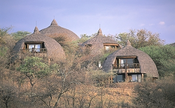 Serengeti Serena Lodge - Side View