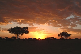 Sunset in Nakuru