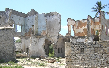 Historical houses in bagamoyo