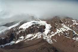 Mount Kilimanjaro from Barranco Hut
