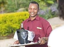 Kitela Lodge Waiter