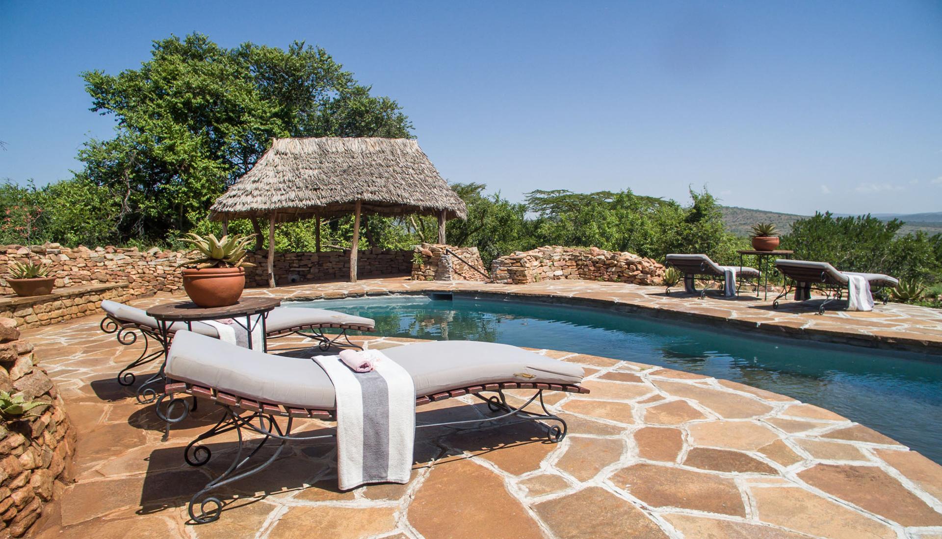 Klein s luxury camp north serengeti gofan safaris and travel africa ltd - Swimmingpool klein ...